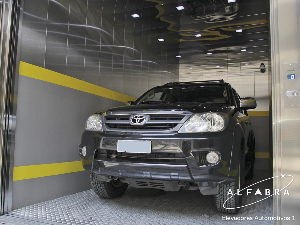 Elevador de Carros para Garagem Vertical