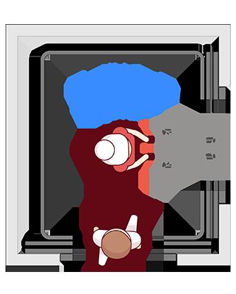 elevador de uso misto Belle Utility Duorum