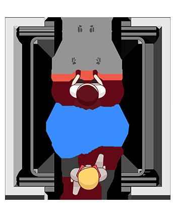 elevador de uso misto Belle Utility Gemini
