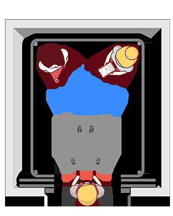 elevador de uso misto Belle Utility Omni