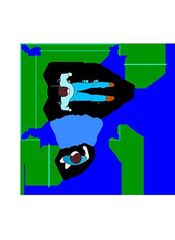 plataforma para cadeirantes Iter Lumini Duorum