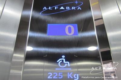 Plataforma para Cadeirantes