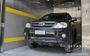 Elevador de Carros para Estacionamento Vertical